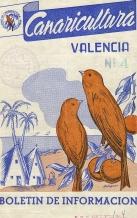 Boletin de la Sociedad de canaricultura afecta al grupo de Pájaros del Sindicato Nacional de Ganaderia