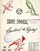 GRUPO SINDICAL DE CADORES-ALICANTE-1968