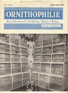 ORNITHOPHILIE-ITALIA-1958