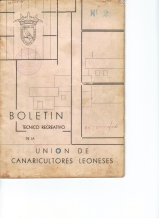 Union de Canaricultores Leones-Leon-1957