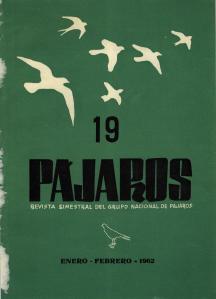 PÁJAROS- EneroFebrero 1962