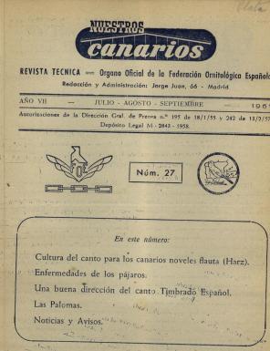Nuestros Canarios 3T  1961