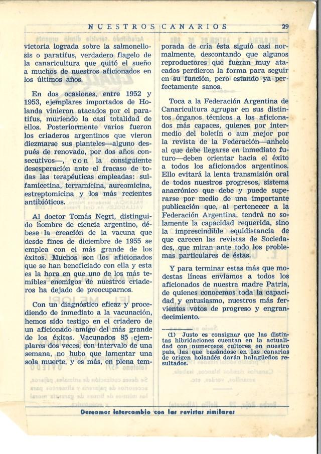 La canaricultura de color en Argentina. 3