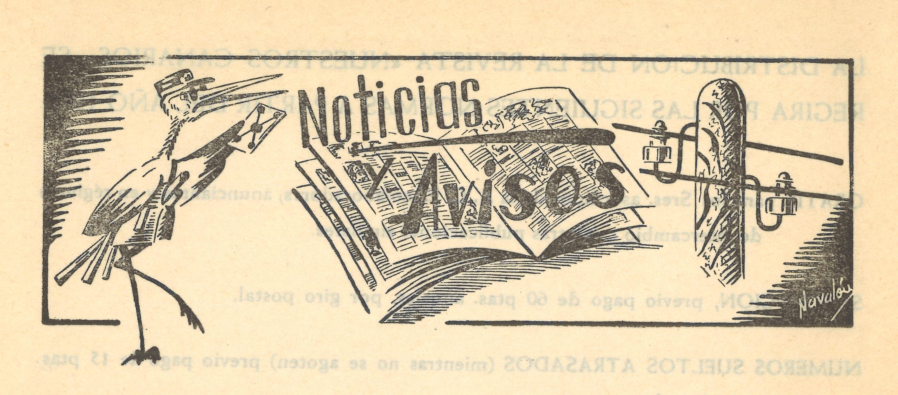 noticias y avisos