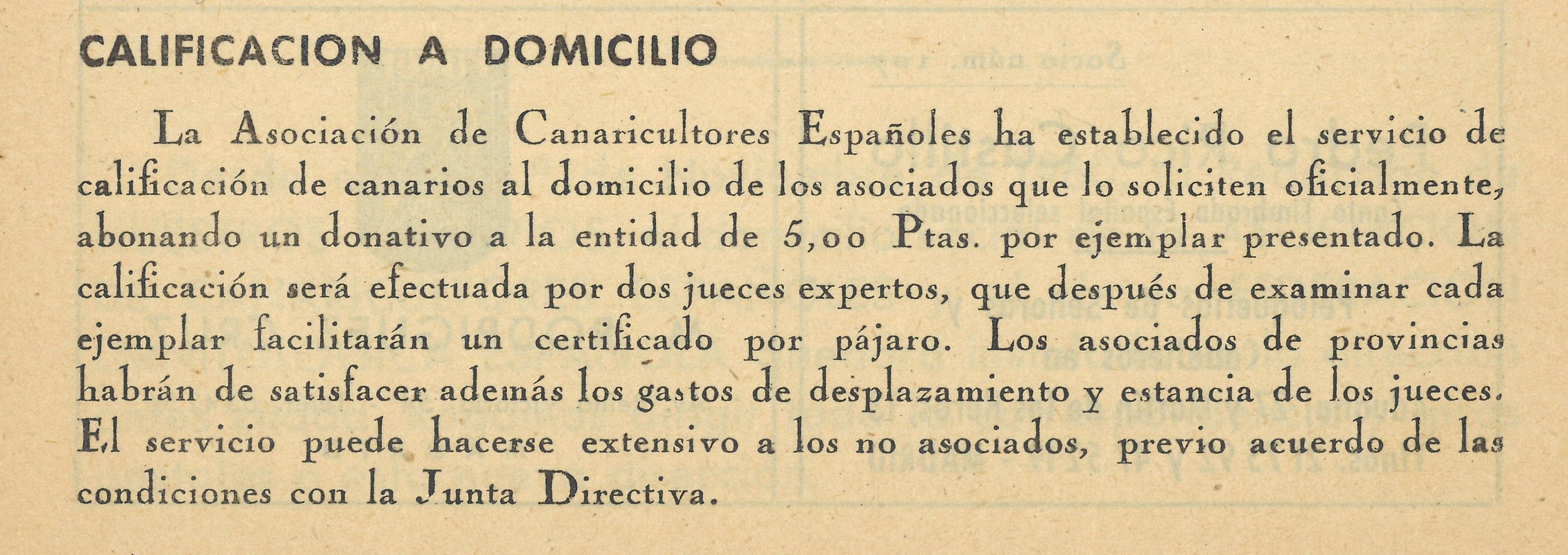 NUESTROS CANARIOS, 3º Trimestre de 1960